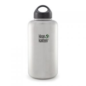 KLEAN KANTEEN BRUSHED STAINLESS 64OZ