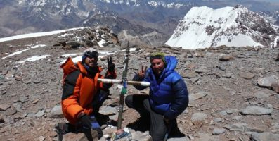 Aconcagua marmolejo climbing expedition